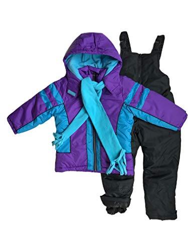 Snowsuits for Kids Girl's 3-Piece Fleece Lined Active...