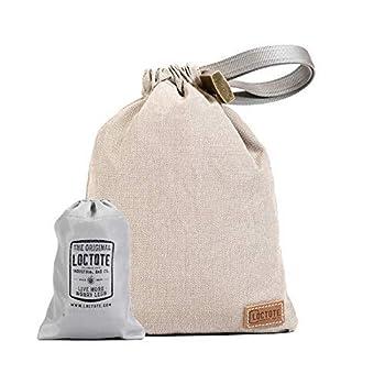 LOCTOTE AntiTheft Sack 3L - The Packable Portable Safe   Anti-theft   Lockable   Slash-Resistant  Khaki