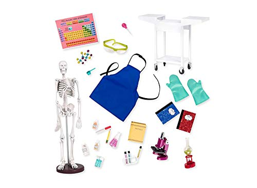 Our Generation by Battat- Schoolroom Science Lab for 18' Dolls- Toys, Playsets & Accessories for Ages 3 Years & Up