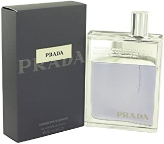 Prada Amber Pour Homme Cologne for Men 3.4 Fl oz Eau De Toilette Spray