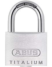 ABUS Titalium hangslot 64TI 64TI/20 grijs