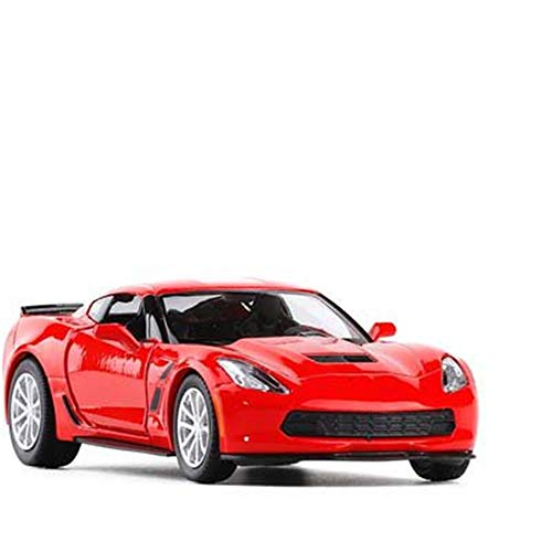 Diecast Model 1/36 For Chevrolet Metal Diecast Cars Toy With Pull Back Alloy Car Model Vehicle Miniature For Birthday Kids Toys Gifts (Size : 3)