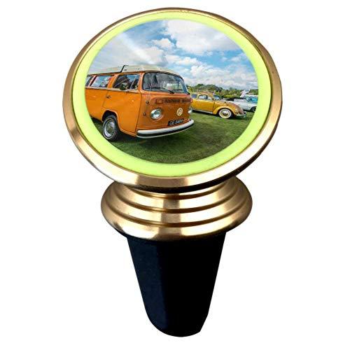 Un viejo y clásico Camper Van Soporte para teléfono para automóvil Soporte magnético para teléfono para automóvil Soporte para ventilación de aire con imán fuerte Rotación de 360 ° Soporte para tel