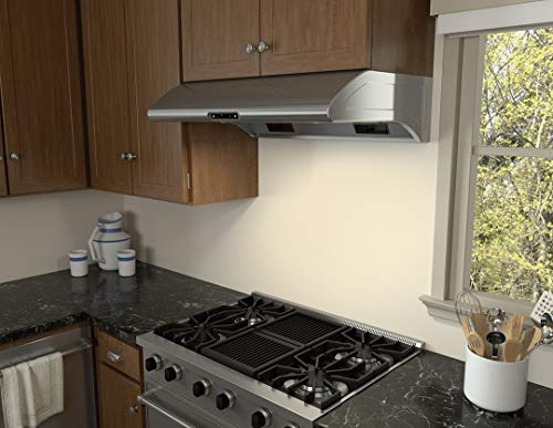 Zephyr AK2100BS 30' Power Typhoon Series Under Cabinet Hood with 850 CFM in Stainless Steel