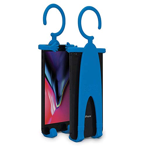 Bondi Plus Unique Flexible Cell Phone Holder for Car, Made of Silicon, Specifically for All Those Larger Smartphones Like The iPhone 6 Plus/Note/Galaxy and More - Turq