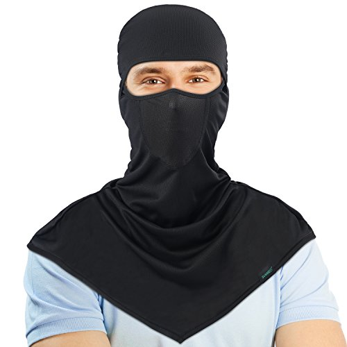 Balaclava - Windproof and Sun protection Full Face Mask Cycling Motorcycle Breathable Neck Cover in Summer For Men and Women