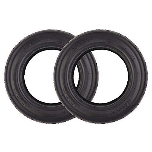 RUHUO 2 Pack of 10x2.50 10' Tire Tyre Replacement for 10 Inch Electric Scooter fit 36v 48v 400w 500w 800w Hub Motor