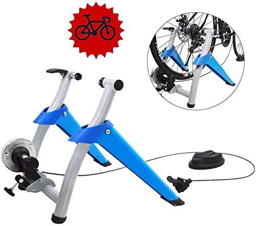 XLNB fiets rollentrainer geluidsreductie geschikt voor oefeningen stationaire inklapbare snelspanner voorwielsteun hometrainer voor binnen voor 26