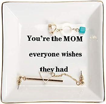 HOME SMILE Mom Ring Trinket Dish