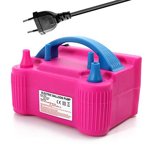 Bomba de globo de aire electrica,inflador de globos electrico portatil bomba inflar...