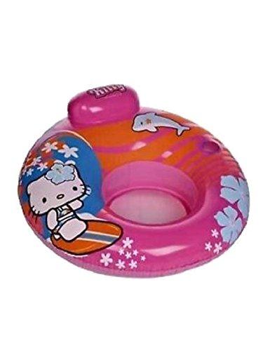 Poltrona Gonfiabile Ciambella Hello Kitty per bambina Mare Piscina *11364