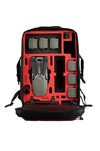 MC-CASES® Rucksack für DJI Mavic 2 und DJI Smart Controller - Extrem komfortabel - Viel Platz -