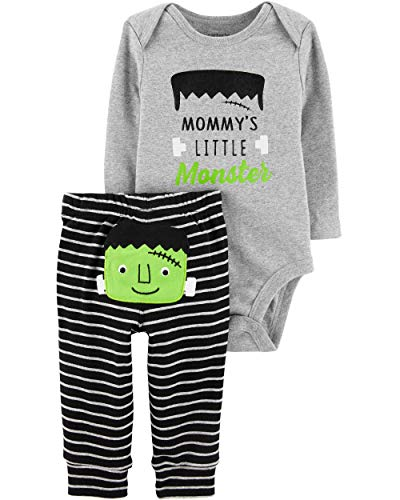 Carter's Baby 2 Pc Sets 119g111 (3 Months, Frankenstein/Grey)