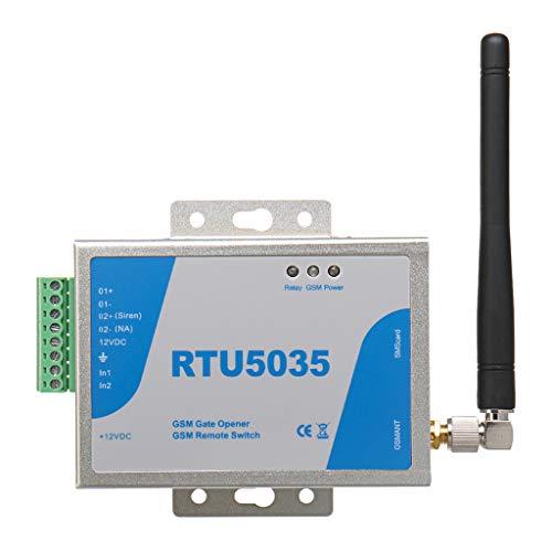 WAHSBAG Apertura de Puerta, RTU5035 gsm Interruptor de relé de Apertura de Puerta Control Remoto inalámbrico con Antena