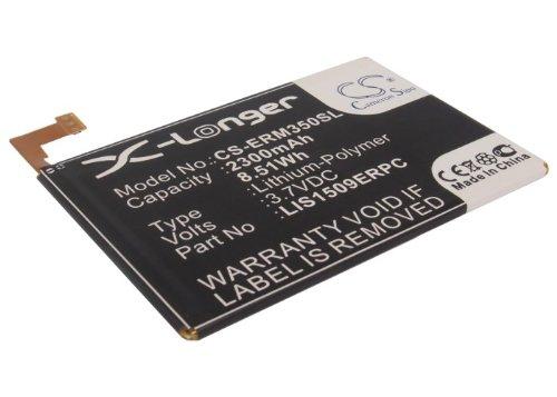 CS-ERM350SL Batería 2300mAh Compatible con [Sony Ericsson] C5303, HuaShan Chun, M35c, M35h, M35i, M35t-CS, M35t-SG, M35ts, Xperia SP, Xperia SP TD-LTE sustituye 1266-340.1, para LIS1509ERPC