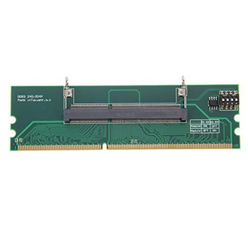 Memoria del Ordenador DDR3 portátil de Escritorio Memoria RAM Tarjeta de Adaptador convertidor