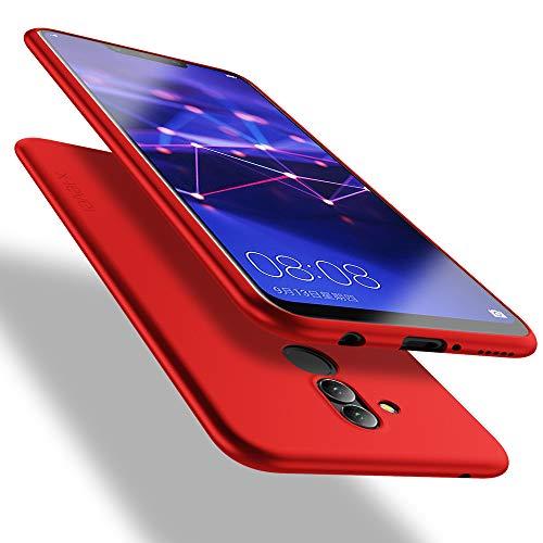 X-level Huawei Mate 20 Lite Hülle, [Guardian Serie] Soft Flex Silikon Premium TPU Echtes Handygefühl Handyhülle Schutzhülle für Huawei Mate 20 Lite Hülle Cover - Rot