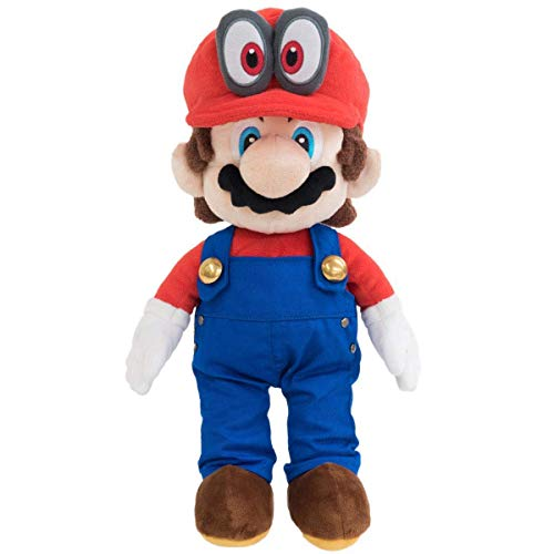 Little Buddy 1693 Super Mario with Removable Red Cappy Hat (Odyssey Style) Plush, 13'