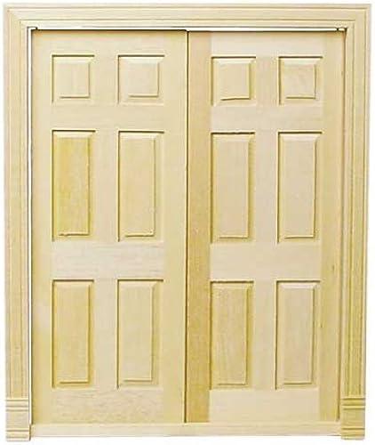 Dollhouse Miniature Double Entry Doors by Houseworks, Ltd.