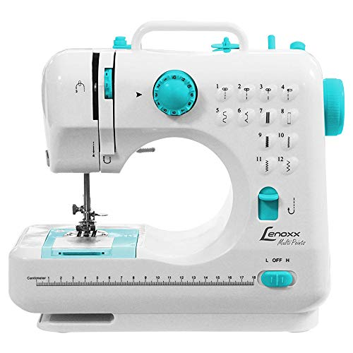 Máquina de Costura Portátil Multi Points Lenoxx Branco