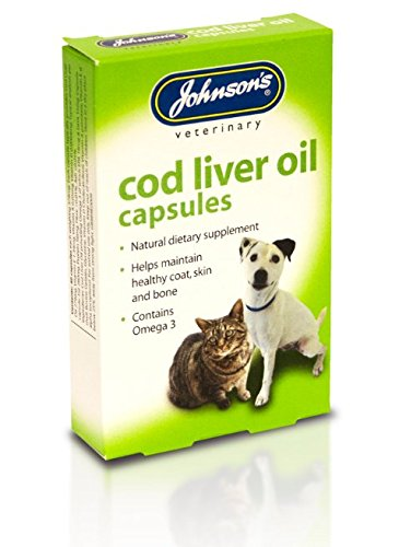 Johnson's COD LIVER OIL CAPSULES - 40, 170 OR 800 CAP PACKS - JOINTS - SKIN CARE (170 CAPSULES)