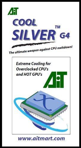 AI Technology Cool-Silver G4 1cc Syringe, 3 g