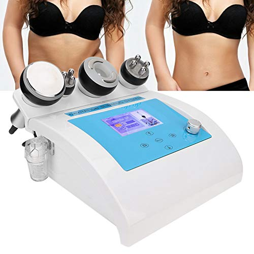 4 in 1 40K Ultrasuoni Cavitazione radiofrequenza Prodotto di bellezza Massaggiatore facciale anticellulite Bruciare il grasso corporeo Corpo dimagrante Apparato per trattamento a macchina(02)