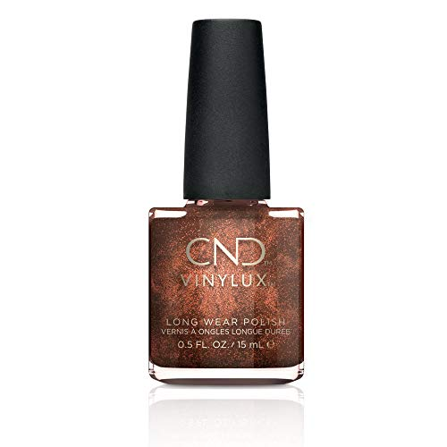 CND Vinylux Long Wear Nail Polish (No Lamp Required), 15 ml, Nude, Leather Satchel