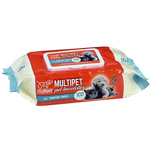 Multipet 68505 100 Count Groom Genie Daily Clean...