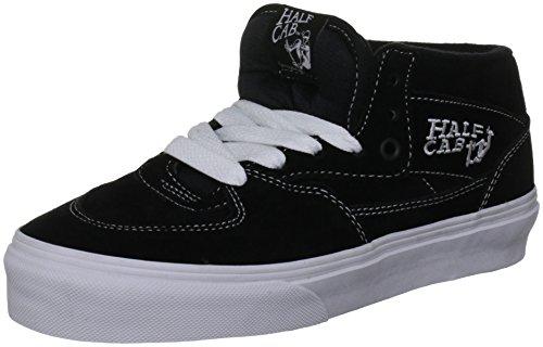 Vans Half Cab, Zapatillas de Skateboarding Unisex Adulto, Negro, 43 EU
