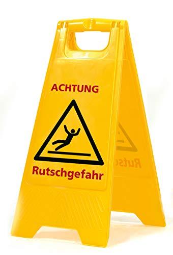 Sprintus Warnschild mit Schriftzug Rutschgefahr 301073