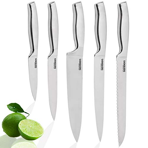 SVENSBJERG Set de 5 Cuchillos de Cocina   Cuchillo de Chef P