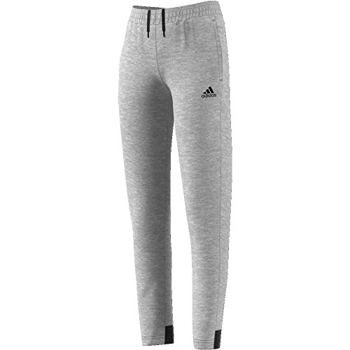 adidas Mädchen Must Haves Plain Trainingshose, Medium Grey Heather/Black, 152