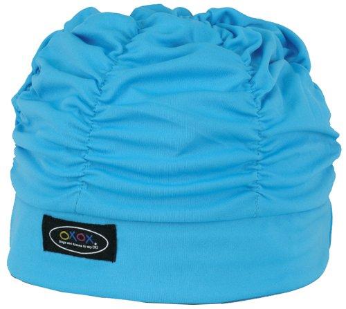 FOOTMARK(フットマーク) 水泳帽 スイミングキャップ ゆったりアクアキャップギャザー 508001 サックス(06)