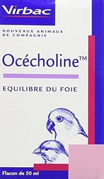 Virbac Ocecholine pour Oiseau Flacon de 50 ML