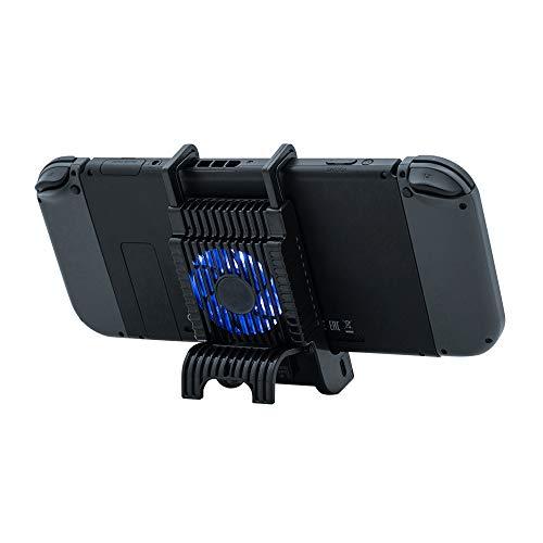 Mcbazel Honcam Cargadores con ventilador Para Nintendo Switch / Lite Bracket Mount soporte de carga rápida