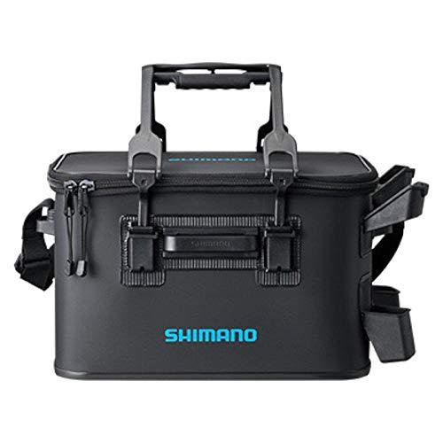 シマノ(SHIMANO) 釣り用タックルバッグ ロッドレストタックルバッグ(ハード) BK-021R 27L-2 ブラック