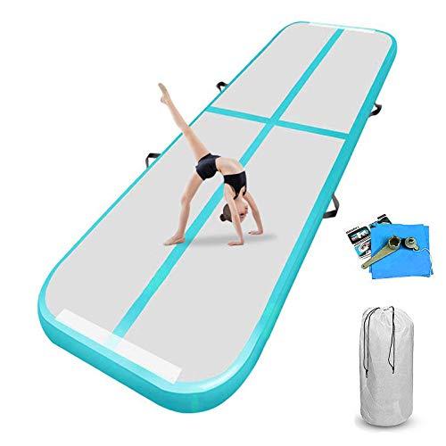 airtrack matte 10cm hoch 4M Aufblasbare turnmatte AirTrack Gymnastik Yogamatte Taekwondo Camping Trainingsmatte