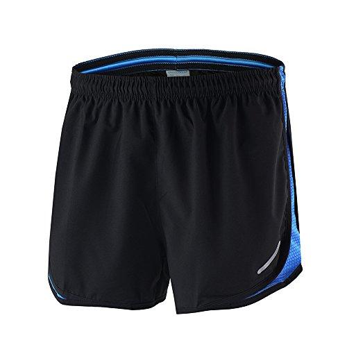 Lixada - Running-Shorts für Herren in Blau, Größe M