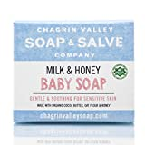 Chagrin Valley Soap Salve, Organic and Natural Baby Soap Bar for Baby's Sensitive Skin - 3.5 OZ