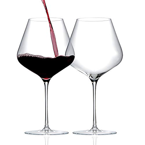 ZENOLOGY by Wine Enthusiast Pinot Noir Wine Glasses - Set of 2