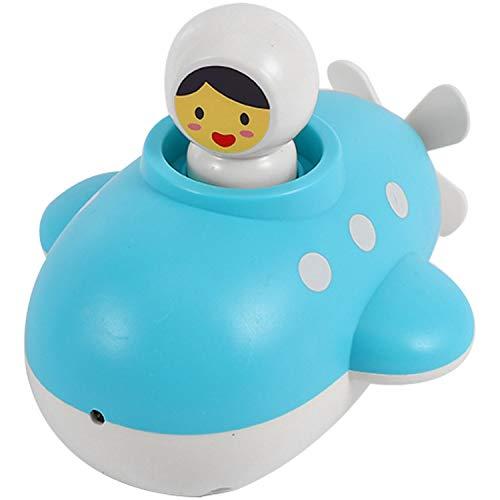 Summerwindy Baao para Bebés Juguete Submarino Baao para Niios Educación Juguete con Agua Niio Niios Niias 1 una 3 Feliz Niio Baaera Espuma Playa Piscina