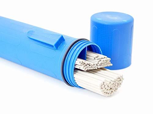 Elektrodenköcher befüllt mit verschiedenen Oerlikon FINCORD Stabelektroden Schweißelektroden 1,6/2/2,5/3,2 x 250/350 mm