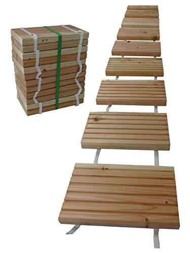 Gartenpirat -   Rollweg Holz 25x250