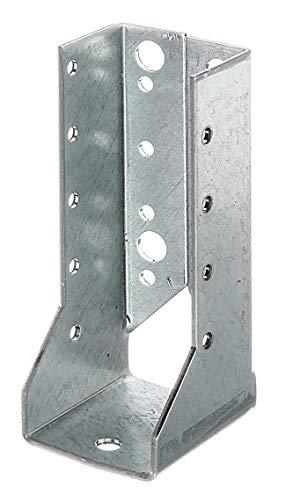 GAH-Alberts 336745 Balkenschuh | Typ B, Handwerkerpack | sendzimirverzinkt | 60 x 100 mm | 50er Set