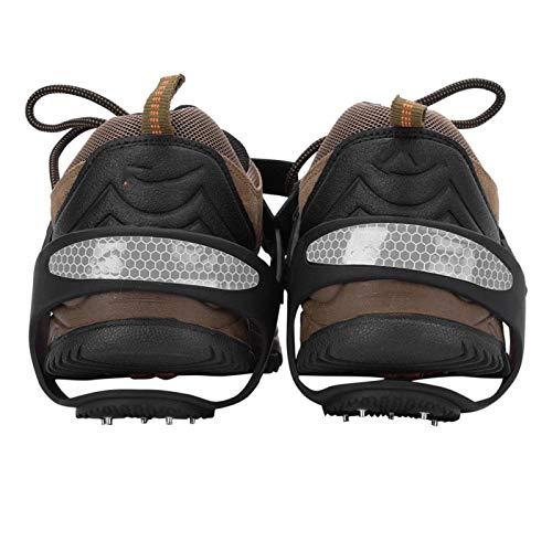 Zhat Punta de Agarre para Zapatos, crampones de Buena Elasticidad, para Calzado Deportivo, Botas de Senderismo(XL43-45)