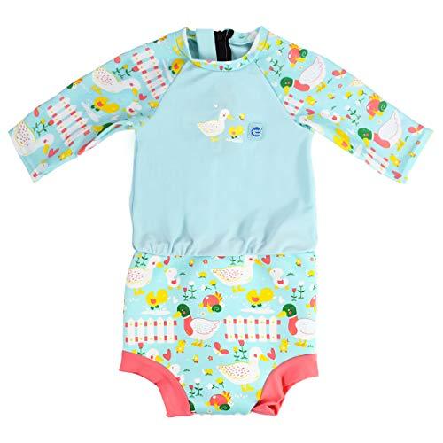 Splash About Sonnenanzug mit Happy Nappy Schwimmwindel Little Ducks 12-24 Monate