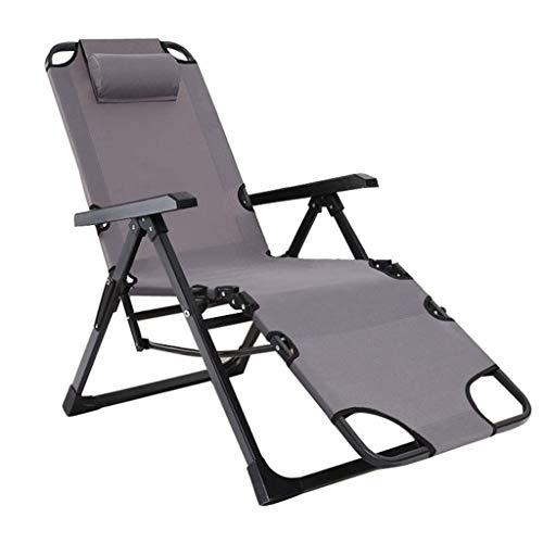 FHISD Schwerelosigkeit Stuhl,Verstellbarer Klapp-Liegestuhl Liege Patio Lounge Chair Kapazität mit Kopfstütze für Outdoor, Camping, Patio, Rasen 330lbs