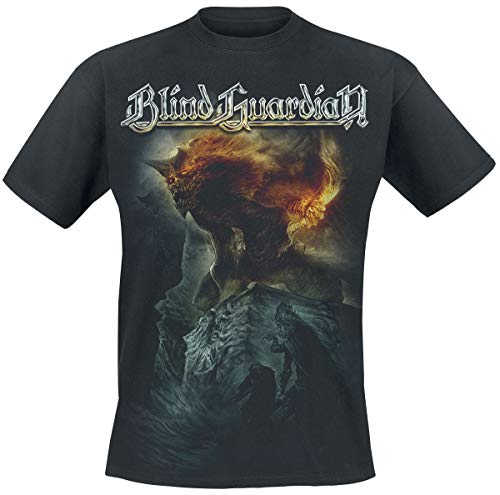 Blind Guardian Nightfall In Middle Earth Männer T-Shirt schwarz L 100% Baumwolle Band-Merch, Bands
