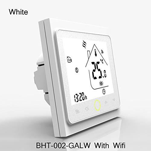 WiFi Thermostat Temperaturregler für Wasser/Elektrische Bodenheizung Wasser/Gas-Boiler kompatibel mit Alexa Google Home 3A 16A